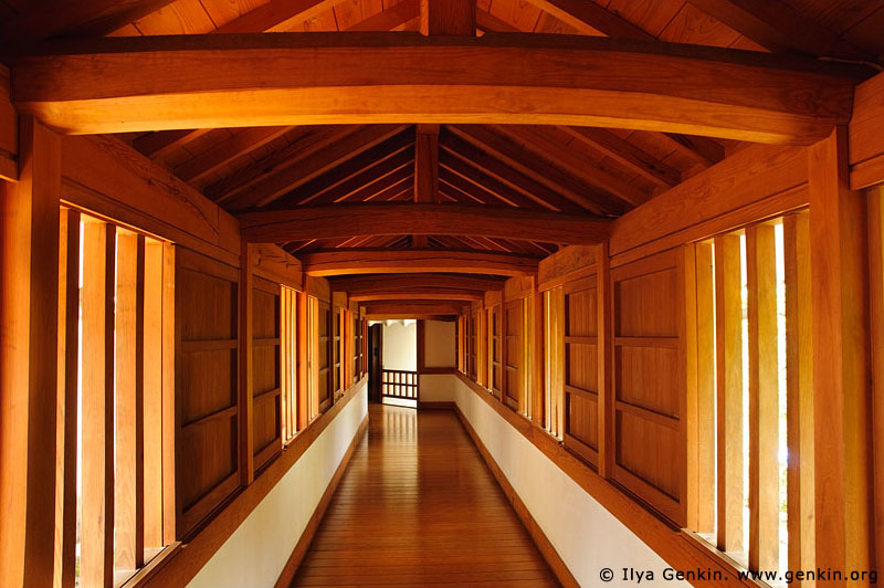 japan stock photography | Corridor at Himeji Castle, Hyogo Prefecture, Kansai region, Honshu Island, Japan, Image ID JPHJ0035