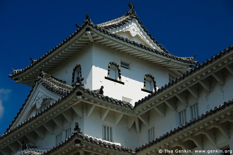 japan stock photography | Himeji Castle, Hyogo Prefecture, Kansai region, Honshu Island, Japan, Image ID JPHJ0038