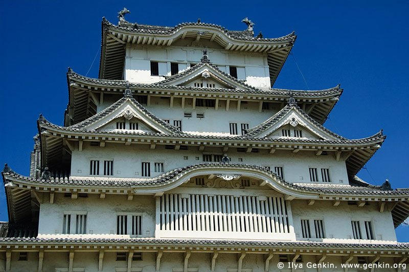 japan stock photography | Himeji Castle, Hyogo Prefecture, Kansai region, Honshu Island, Japan, Image ID JPHJ0039