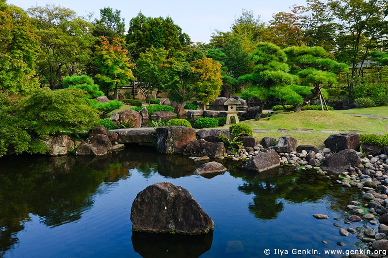 japan stock photography | Koko-en Garden, Hyogo Prefecture, Kansai region, Honshu Island, Japan, Image ID JPHJ0050