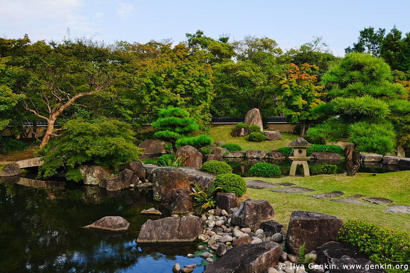japan stock photography | Koko-en Garden, Hyogo Prefecture, Kansai region, Honshu Island, Japan, Image ID JPHJ0051
