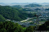 japan stock photography | Himeji. View from Mount Shosha., Hyogo Prefecture, Kansai region, Honshu Island, Japan, Image ID JPHJ0056.