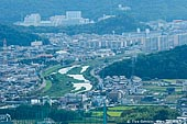 japan stock photography | Himeji. View from Mount Shosha., Hyogo Prefecture, Kansai region, Honshu Island, Japan, Image ID JPHJ0064.