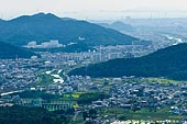 japan stock photography | Himeji. View from Mount Shosha., Hyogo Prefecture, Kansai region, Honshu Island, Japan, Image ID JPHJ0065.