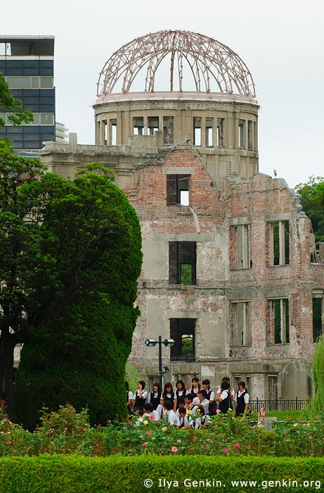 japan stock photography | Atomic Bomb Dome, Hiroshima, Honshu, Japan, Image ID JPHI0003