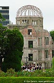 japan stock photography | Atomic Bomb Dome, Hiroshima, Honshu, Japan, Image ID JPHI0003.