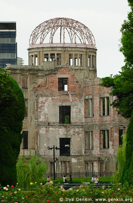 japan stock photography | Atomic Bomb Dome, Hiroshima, Honshu, Japan, Image ID JPHI0004