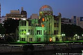 japan stock photography | Atomic Bomb Dome at Dusk, Hiroshima, Honshu, Japan, Image ID JPHI0008.