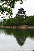 japan stock photography | Hiroshima Castle, Hiroshima, Honshu, Japan, Image ID JPHI0011.