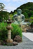 japan stock photography | The Great Buddha (Daibutsu) of Kamakura, Kotoku-in Temple, Kamakura, Honshu, Japan, Image ID JP-KAMAKURA-0001.