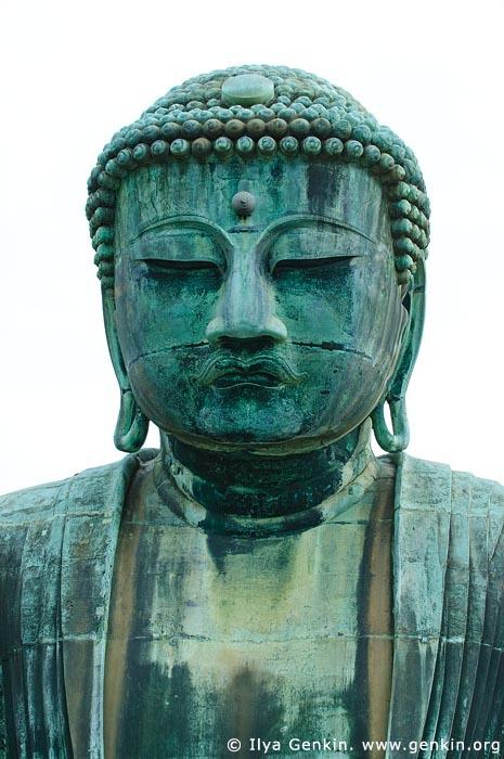japan stock photography   The Great Buddha (Daibutsu) of Kamakura, Kotoku-in Temple, Kamakura, Honshu, Japan, Image ID JP-KAMAKURA-0004
