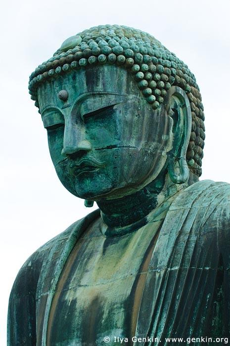 japan stock photography | The Great Buddha (Daibutsu) of Kamakura, Kotoku-in Temple, Kamakura, Honshu, Japan, Image ID JP-KAMAKURA-0005