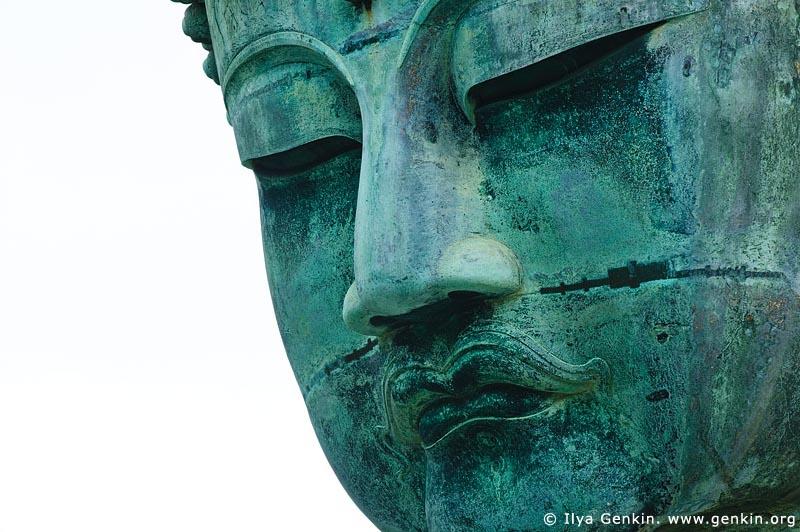 japan stock photography   The Great Buddha (Daibutsu) of Kamakura, Kotoku-in Temple, Kamakura, Honshu, Japan, Image ID JP-KAMAKURA-0006