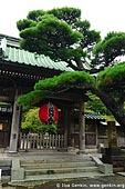 japan stock photography | Entrance Gate at Kaikozan Hase-dera Temple, Kaikozan Hase-dera Temple, Kamakura, Honshu, Japan, Image ID JP-KAMAKURA-0010.