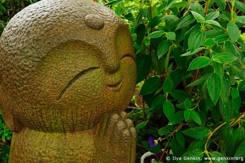 japan stock photography | Statue of Jizo, Kaikozan Hase-dera Temple, Kaikozan Hase-dera Temple, Kamakura, Honshu, Japan, Image ID JP-KAMAKURA-0013