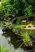 japan stock photography | Pond at Kaikozan Hase-dera Temple, Kaikozan Hase-dera Temple, Kamakura, Honshu, Japan, Image ID JP-KAMAKURA-0014.