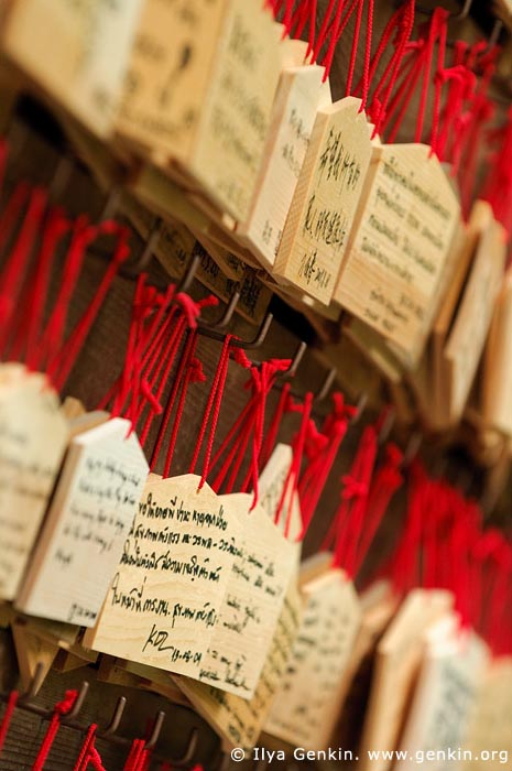 japan stock photography | Ema, Prayer Tablets, at Kaikozan Hase-dera Temple, Kaikozan Hase-dera Temple, Kamakura, Honshu, Japan, Image ID JP-KAMAKURA-0017