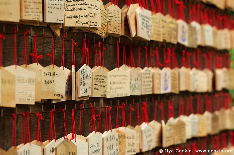 japan stock photography | Ema, Prayer Tablets, at Kaikozan Hase-dera Temple, Kaikozan Hase-dera Temple, Kamakura, Honshu, Japan, Image ID JP-KAMAKURA-0020