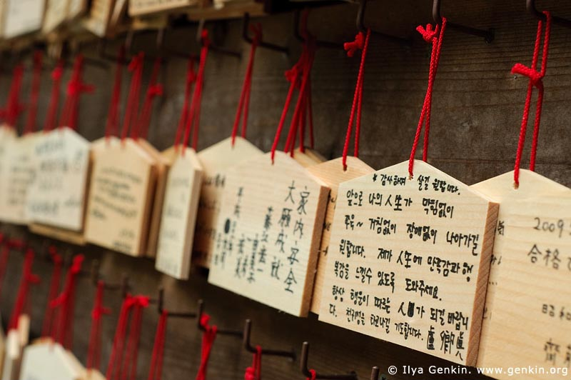 japan stock photography | Ema, Prayer Tablets, at Kaikozan Hase-dera Temple, Kaikozan Hase-dera Temple, Kamakura, Honshu, Japan, Image ID JP-KAMAKURA-0024