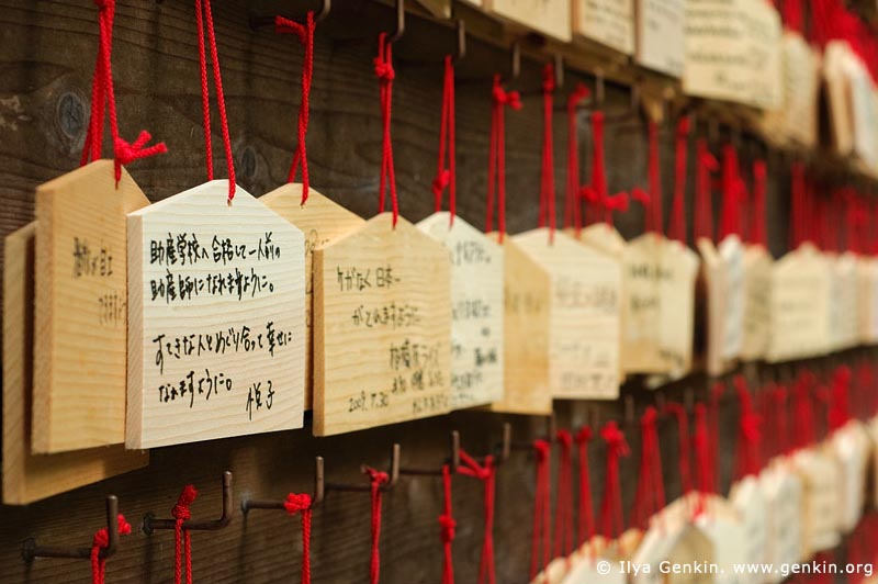 japan stock photography | Ema, Prayer Tablets, at Kaikozan Hase-dera Temple, Kaikozan Hase-dera Temple, Kamakura, Honshu, Japan, Image ID JP-KAMAKURA-0025