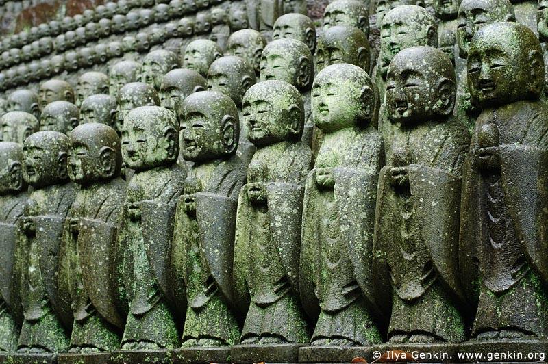 japan stock photography | 1000 Statues of Jizo, Kaikozan Hase-dera Temple, Kaikozan Hase-dera Temple, Kamakura, Honshu, Japan, Image ID JP-KAMAKURA-0032