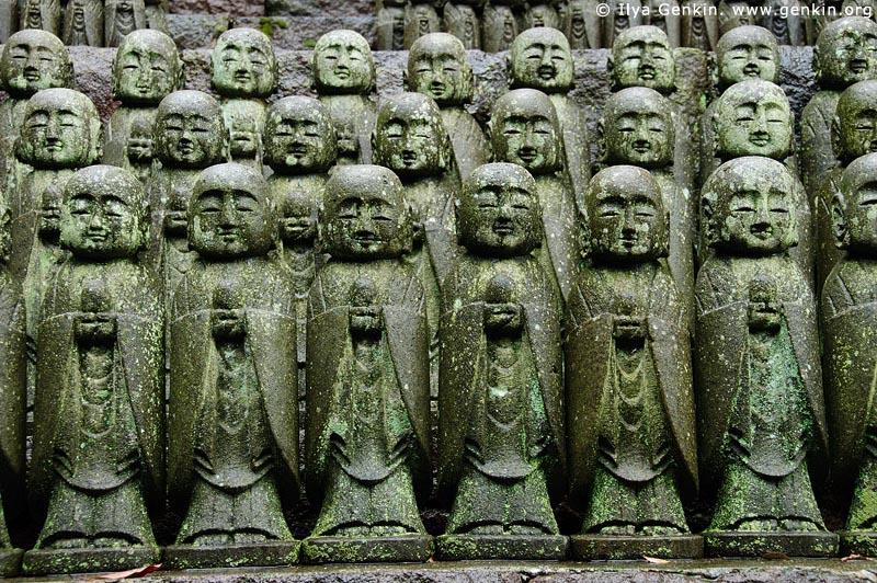japan stock photography | 1000 Statues of Jizo, Kaikozan Hase-dera Temple, Kaikozan Hase-dera Temple, Kamakura, Honshu, Japan, Image ID JP-KAMAKURA-0033