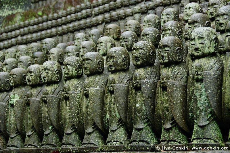 japan stock photography | 1000 Statues of Jizo, Kaikozan Hase-dera Temple, Kaikozan Hase-dera Temple, Kamakura, Honshu, Japan, Image ID JP-KAMAKURA-0035