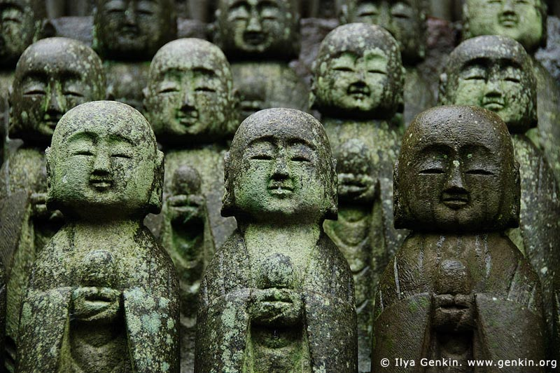 japan stock photography | 1000 Statues of Jizo, Kaikozan Hase-dera Temple, Kaikozan Hase-dera Temple, Kamakura, Honshu, Japan, Image ID JP-KAMAKURA-0036