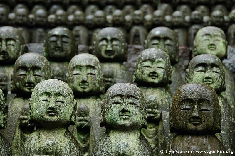 japan stock photography | 1000 Statues of Jizo, Kaikozan Hase-dera Temple, Kaikozan Hase-dera Temple, Kamakura, Honshu, Japan, Image ID JP-KAMAKURA-0037