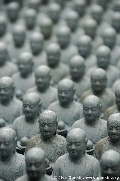 japan stock photography | 1000 Statues of Jizo, Kaikozan Hase-dera Temple, Kaikozan Hase-dera Temple, Kamakura, Honshu, Japan, Image ID JP-KAMAKURA-0040