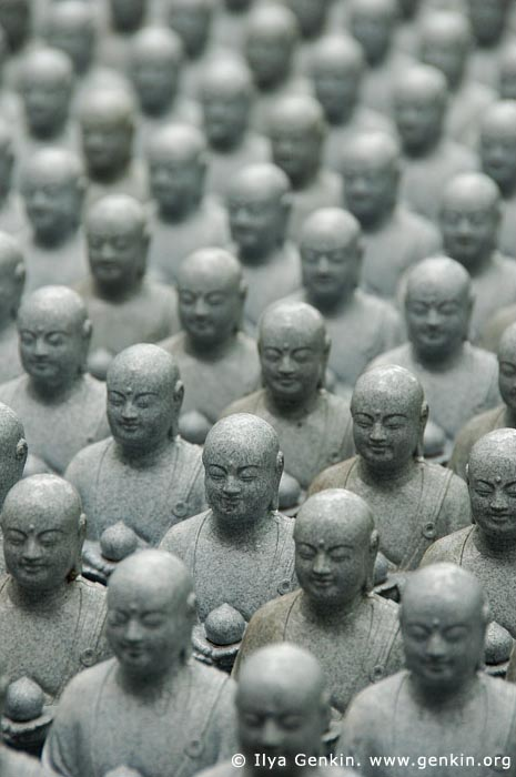 japan stock photography | 1000 Statues of Jizo, Kaikozan Hase-dera Temple, Kaikozan Hase-dera Temple, Kamakura, Honshu, Japan, Image ID JP-KAMAKURA-0041