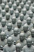 japan stock photography | 1000 Statues of Jizo, Kaikozan Hase-dera Temple, Kaikozan Hase-dera Temple, Kamakura, Honshu, Japan, Image ID JP-KAMAKURA-0041.