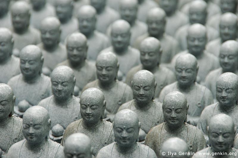 japan stock photography | 1000 Statues of Jizo, Kaikozan Hase-dera Temple, Kaikozan Hase-dera Temple, Kamakura, Honshu, Japan, Image ID JP-KAMAKURA-0042