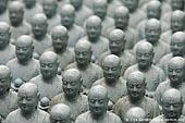japan stock photography | 1000 Statues of Jizo, Kaikozan Hase-dera Temple, Kaikozan Hase-dera Temple, Kamakura, Honshu, Japan, Image ID JP-KAMAKURA-0042.