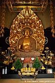 japan stock photography | Golden Statue of Yakuyoke Amida Buddha at Kaikozan Hase-dera Temple, Amida-do Hall, Kaikozan Hase-dera Temple, Kamakura, Honshu, Japan, Image ID JP-KAMAKURA-0043.
