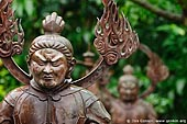 japan stock photography | Bronze Statue at Kaikozan Hase-dera Temple, Guardian of the Nation (Jikokuten), Kaikozan Hase-dera Temple, Kamakura, Honshu, Japan, Image ID JP-KAMAKURA-0051.