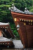 japan stock photography | Roof of the Kannon-do Hall at Kaikozan Hase-dera Temple, Kaikozan Hase-dera Temple, Kamakura, Honshu, Japan, Image ID JP-KAMAKURA-0055.