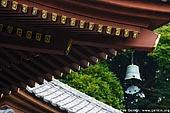 japan stock photography | Roof of the Kannon-do Hall at Kaikozan Hase-dera Temple, Kaikozan Hase-dera Temple, Kamakura, Honshu, Japan, Image ID JP-KAMAKURA-0057.