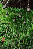 japan stock photography | Copper Lanterns at Kyozo Sutra Archive at Kaikozan Hase-dera Temple, Kaikozan Hase-dera Temple, Kamakura, Honshu, Japan, Image ID JP-KAMAKURA-0058.