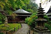 japan stock photography | Main Hall at Tokei-ji Temple in Kamakura, Tokei-ji Temple, Kamakura, Honshu, Japan, Image ID JP-KAMAKURA-0070.