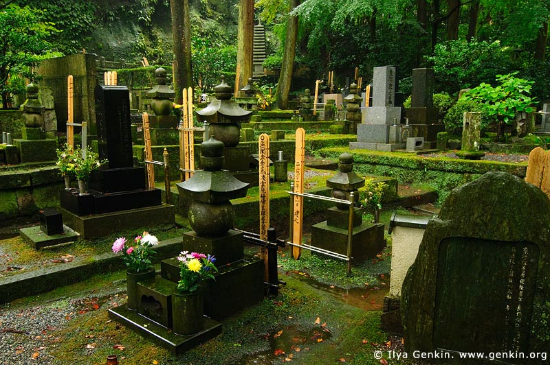 japan stock photography | Cemetery at Tokei-ji Temple in Kamakura, Tokei-ji Temple, Kamakura, Honshu, Japan, Image ID JP-KAMAKURA-0071