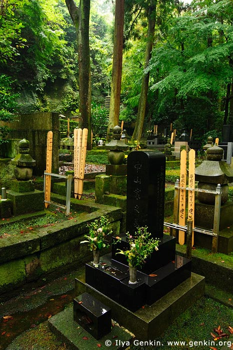 japan stock photography | Cemetery at Tokei-ji Temple in Kamakura, Tokei-ji Temple, Kamakura, Honshu, Japan, Image ID JP-KAMAKURA-0072
