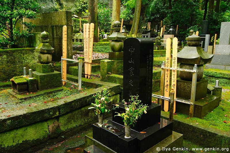 japan stock photography | Cemetery at Tokei-ji Temple in Kamakura, Tokei-ji Temple, Kamakura, Honshu, Japan, Image ID JP-KAMAKURA-0073