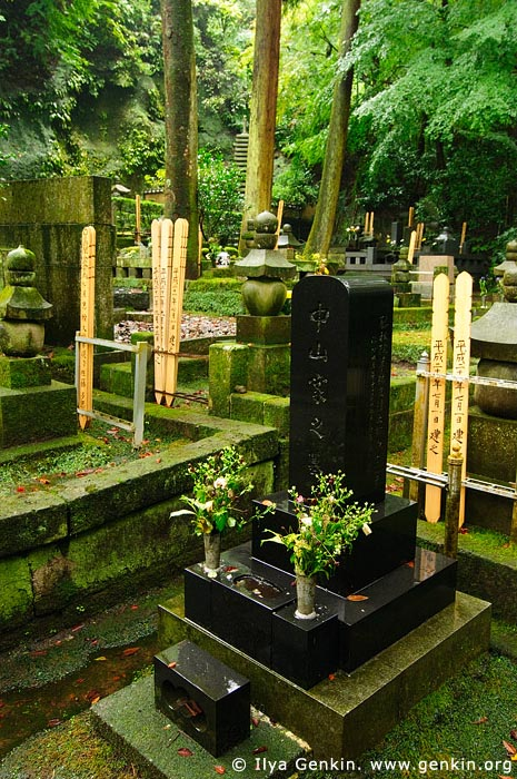 japan stock photography | Cemetery at Tokei-ji Temple in Kamakura, Tokei-ji Temple, Kamakura, Honshu, Japan, Image ID JP-KAMAKURA-0074