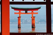 japan stock photography | O-Torii (Grand Gate), Itsukushima Shrine, Miyajima, Honshu, Japan, Image ID JPMI0027.