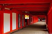 japan stock photography | A Woman in a Long Corridor at Itsukushima Shrine, Itsukushima Shrine, Miyajima, Honshu, Japan, Image ID JPMI0028.