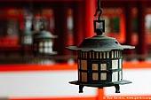 japan stock photography | Lanterns at Itsukushima Shrine, Miyajima, Honshu, Japan, Image ID JPMI0029.