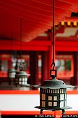 japan stock photography | Lanterns at Itsukushima Shrine, Miyajima, Honshu, Japan, Image ID JPMI0030.
