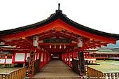 japan stock photography | Shimenawa (rice-straw rope) and Shide (paper strips) at the Entrance to the Itsukushima Shrine, Miyajima, Honshu, Japan, Image ID JPMI0035.