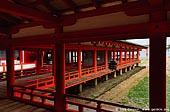 japan stock photography | Corridors at Itsukushima Shrine, Itsukushima Shrine, Miyajima, Honshu, Japan, Image ID JPMI0038.